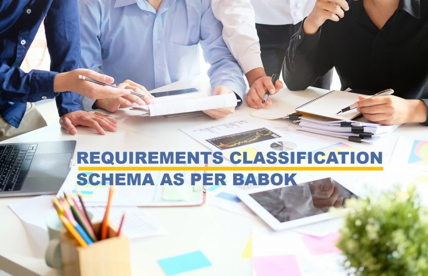 Requirements classification Schema