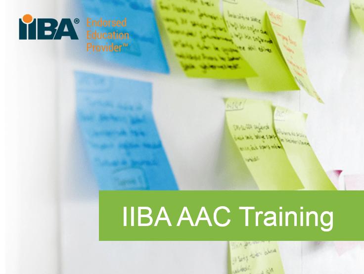 IIBA Agile Analysis Certification (AAC)