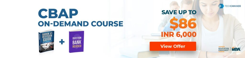 CBAP on demand Course