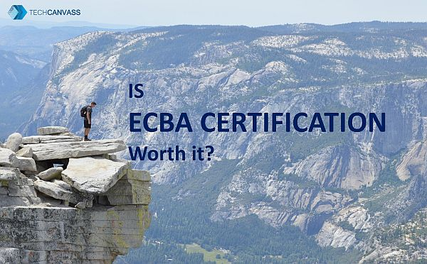 is ECBA certification worth it