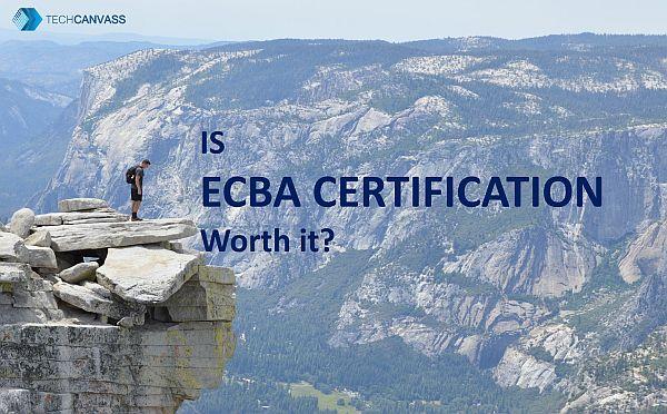 is ECBA certification worth it