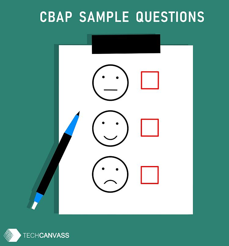 CBAP Sample Questions – With answers & explanations