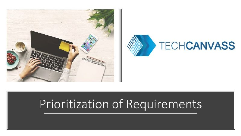 Prioritization of Requirements