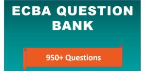 ECBA Question Bank
