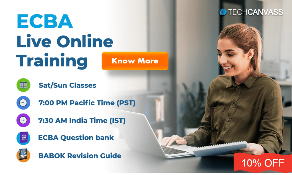 ECBA Online Training