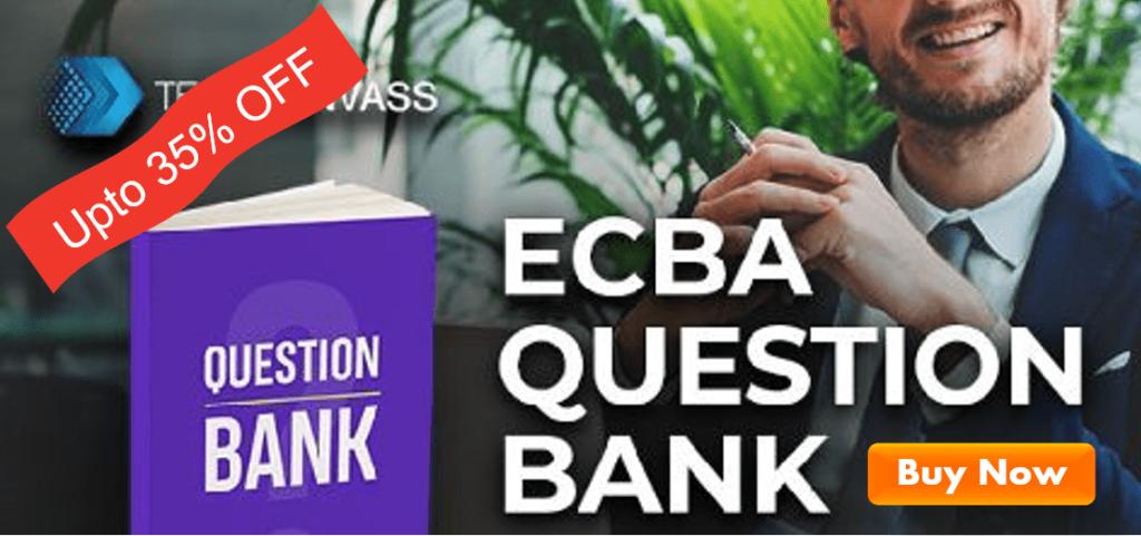 ECBA Question Bank