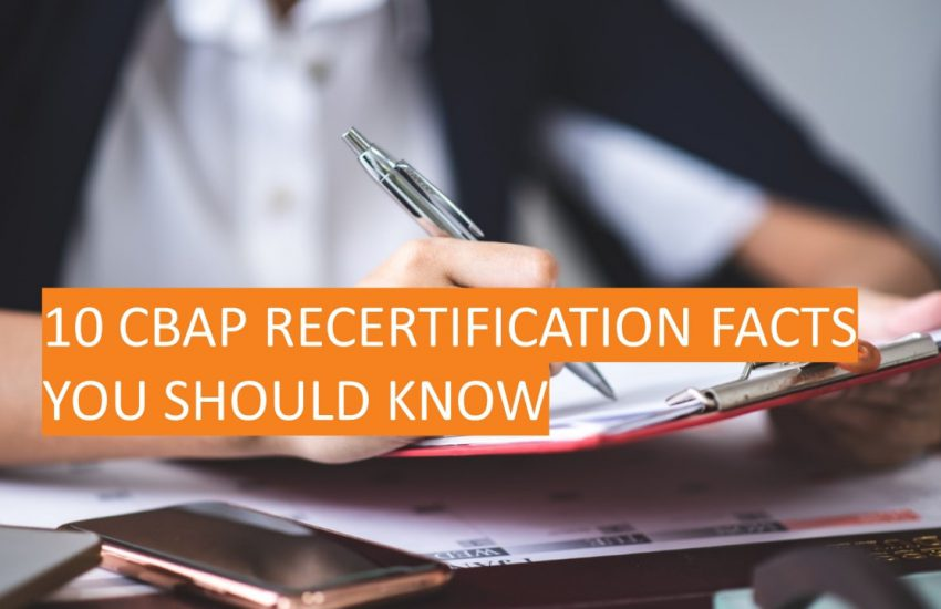 10 CBAP Certification facts you should know