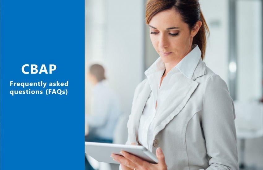 CBAP FAQs