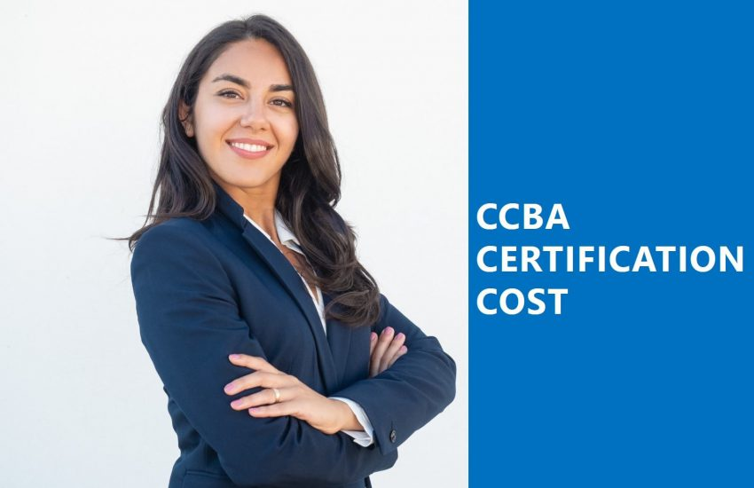 CCBA Certification Cost