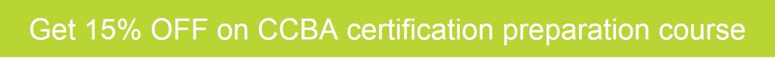 CCBA Certification Course