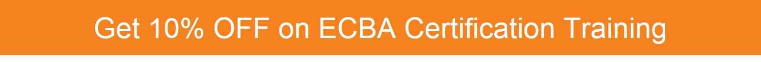ECBA Certification Course