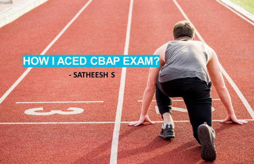 How I aced CBAP exam