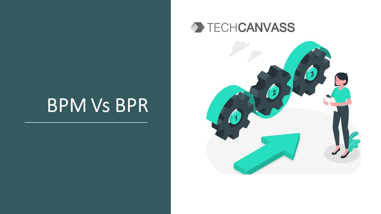 What is the Difference between BPM and BPR