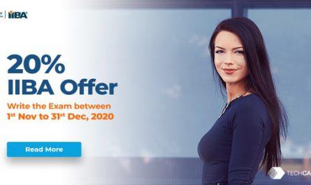 IIBA-Offers-20percentage-rebate
