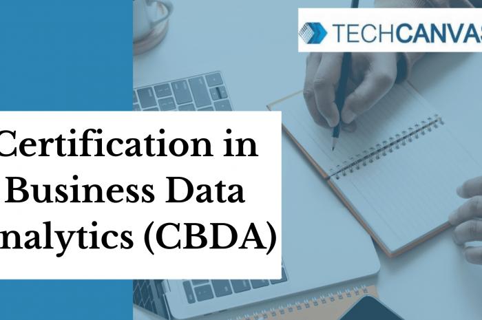 Certification in Business Data Analytics (CBDA)
