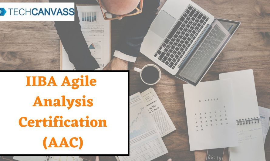 Agile Analysis Certification (AAC)