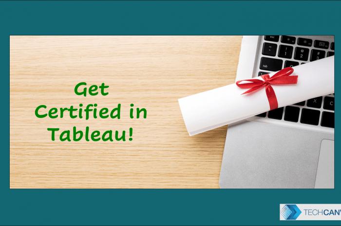 Benefits of Tableau Certification